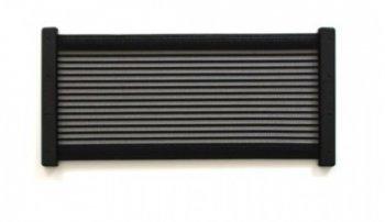 [KiiPER]  Komplettset - schwarz liniert - Modell XL - Stauraum ca. 45 cm