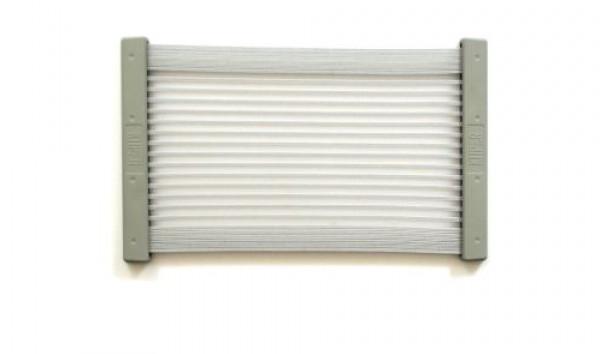 [KiiPER] Komplettset - grau liniert - Modell L - Stauraum ca. 35 cm