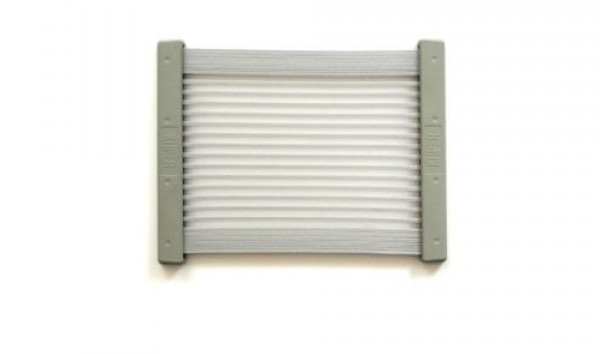 [KiiPER] Komplettset - grau liniert - Modell M - Stauraum ca. 27 cm