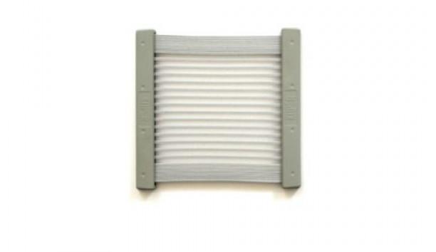 [KiiPER] Komplettset - grau liniert - Modell S - Stauraum ca. 20 cm