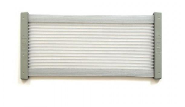 [KiiPER] Komplettset - grau liniert - Modell XL - Stauraum ca. 45 cm