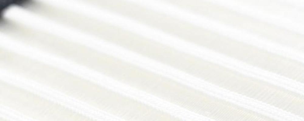 weiß liniert