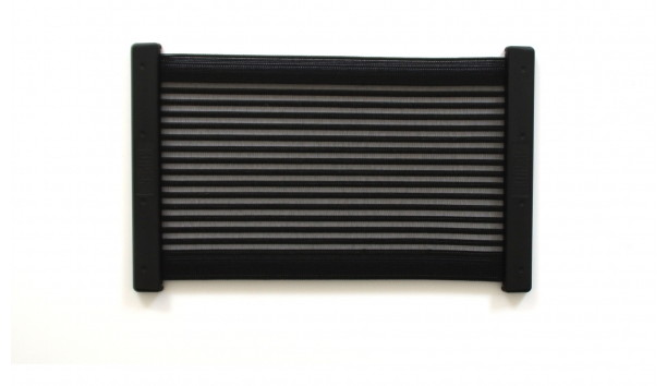 [KiiPER] Komplettset - schwarz liniert - Modell L - Stauraum ca. 35 cm